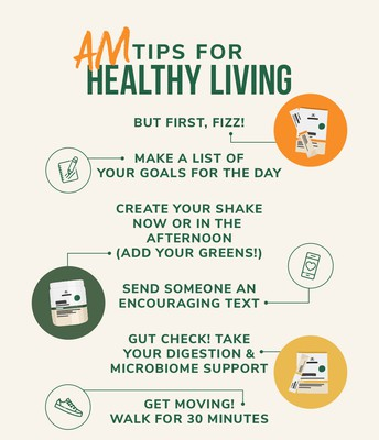 AM TIPS FOR HEALTHY LIVING