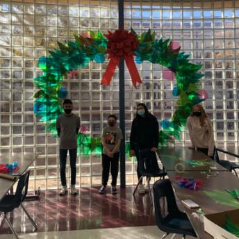 Art Students Wreathe