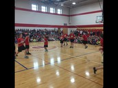 School-Wide Jump Rope for Heart Kick-OFF!  Thanks, Ms. Woodard for organizing this!