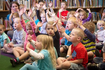Preschool Storytime-- NOW ON SATURDAYS!