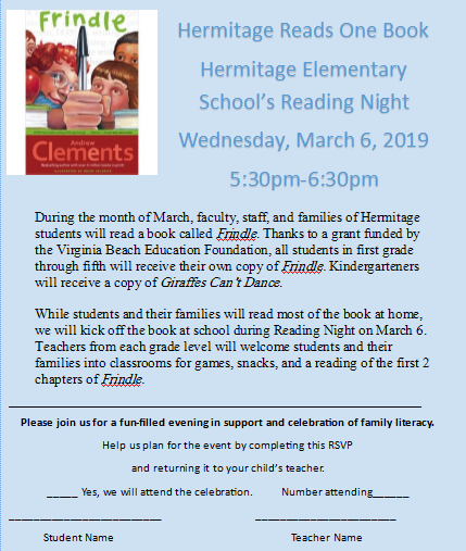 Hermitage Happenings | Smore Newsletters for Education