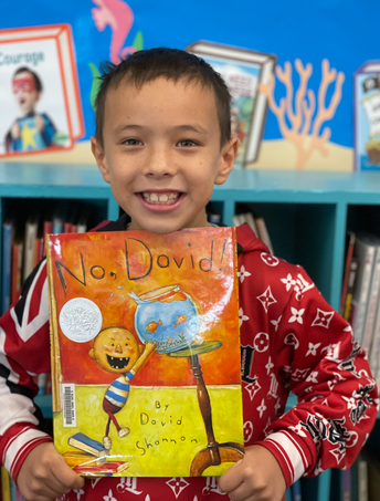 A special read aloud by 2nd grader Journey Garcia