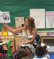 Ms Miller reading