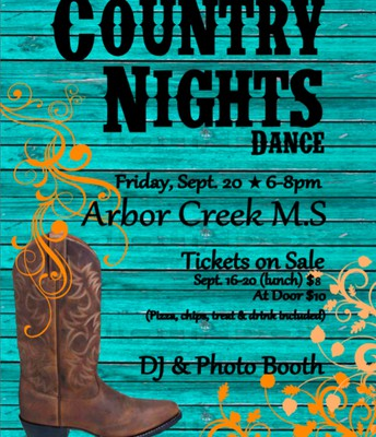 Country Nights Dance 6th - 8th Grade