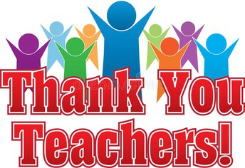 Teacher Appreciation Week begins May 3rd
