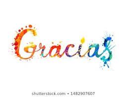 gracias / thank you