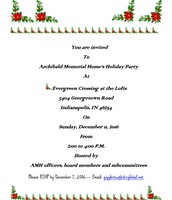 Archibald Memorial Home Holiday Party