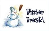 Winter Break is Upon us