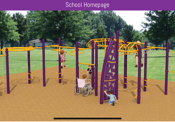 Rendering of Our Proposed New Play Structure