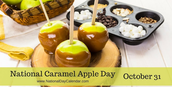 National Caramel Apple Day!