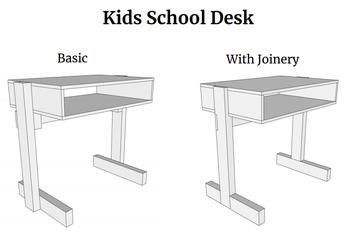 Desks for students
