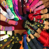 Sock out Childhood Cancer