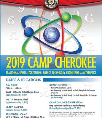 Camp Cherokee 2019 Summer Opp.