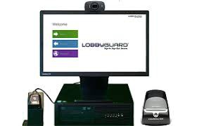 LOBBYGUARD SIGN IN/OUT IS UP AND RUNNING