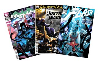 The LRC Has DC Comic Books!