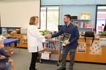 Congratulations to Sequoia Middle School's Shari Bachman - CVUSD's March Teacher of the Month
