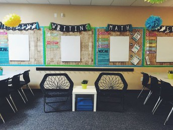 Setting up your classrooms...