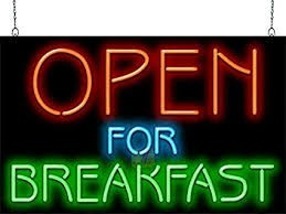 Breakfast Now Offered