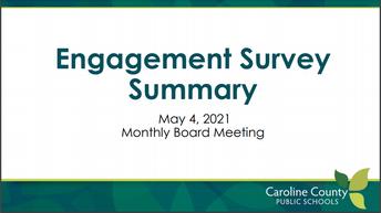 Engagement Survey Summary