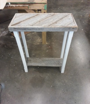 Barnwood Table by Deacon Mitchell