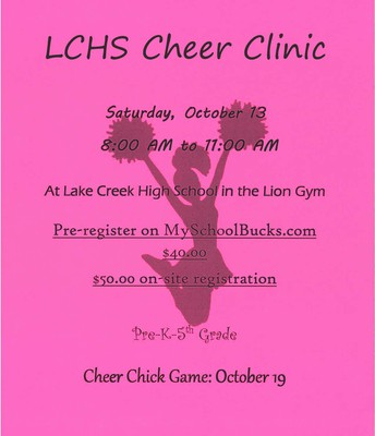 LCHS Cheer Clinic