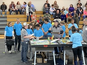 GMS' FLL Team #1862 Pantherbotz...Proud of your qualification for IN State Championship!