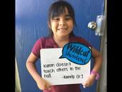 Kamila, 1st Grade