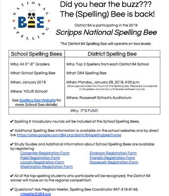 Spelling Bee is Back!