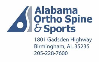 Alabama Ortho Spine and Sports logo