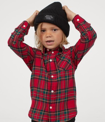 Flannel or Plaid Shirts are fun!