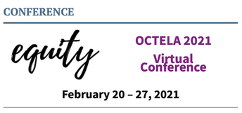 OCTELA (OHIO COUNCIL OF TEACHERS OF ENGLISH LANGUAGE ARTS) WILL BE VIRTUAL THIS YEAR
