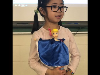 Show & Share in Kindergarten