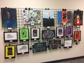 February, March & April - Art on Display