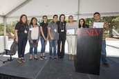 High School participants recognized