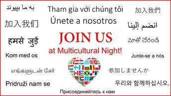 Multicultural Night - January 24th - 6:00pm -7:30pm