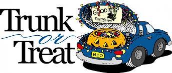 Annual Trunk or Treat!--Mark your Calendar