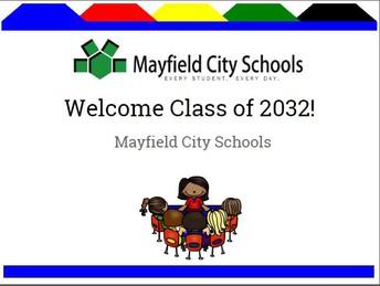 Welcome Kindergarten Class of 2032!