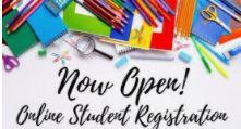 Online Registration Information for 2021-2022