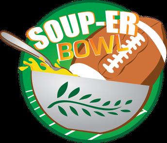 Souper Bowl– February 2nd