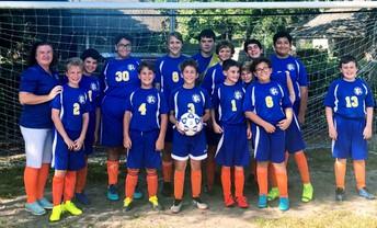 Soccer Team Kicks Off their Season