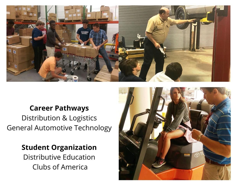 Transportation, Distribution, & Logistics photo collage