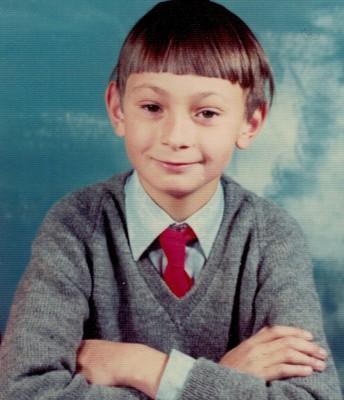 Dr. Guy Wilson, BOE Member (school-age photo)