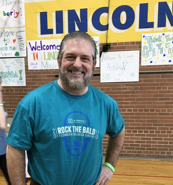 Thanks to Mr. Tebo for all your hard work with St. Baldrick's.