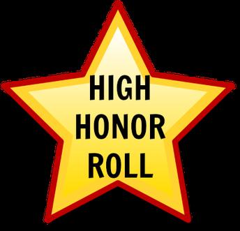 4TH QUARTER HIGH HONOR ROLL