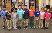 2nd Grade Spelling Bee Contestants
