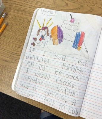 Amazing Kindergarten Writing!