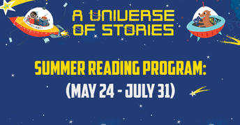 Library Summer Reading Program Blasts Off May 24