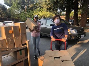 Food Distribution: ¡Muchas Gracias a los Voluntarios!