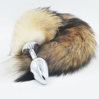 Fox Tail Stainless Steel Butt Plug – 3 Sizes Available