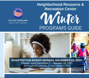 FREE Activites & Classes through Neightborhood Resource & Recreation Centers